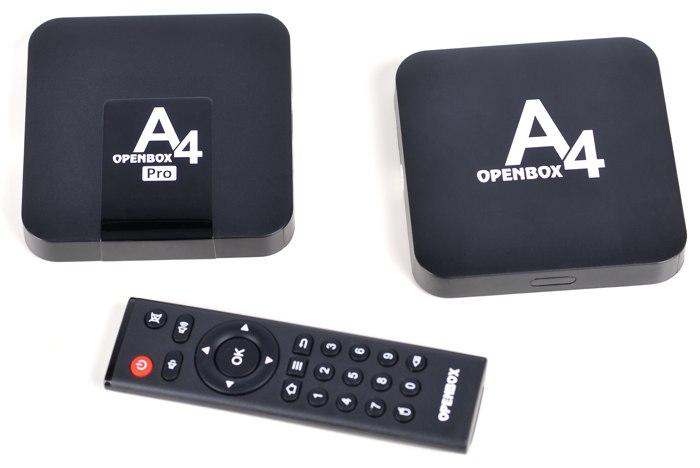 Openbox A4 и A4 Pro - подробный обзор приставок для IPTV