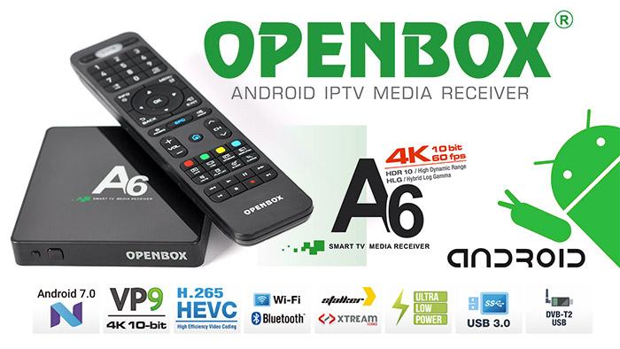 Openbox® A6 UHD