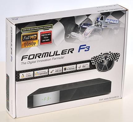 لمحة عن الجهاز الجميل formuler f3  S1